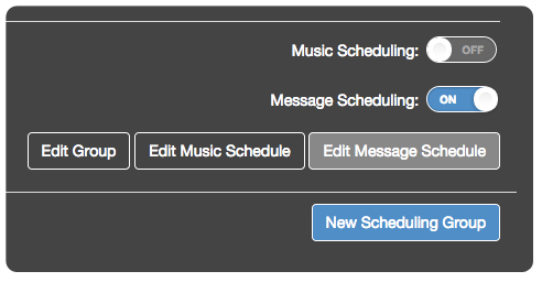 Promotional message scheduling